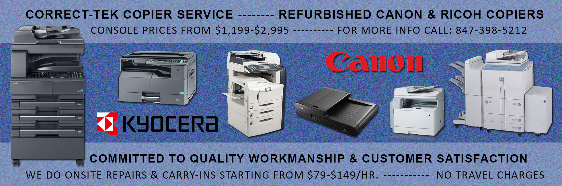 minolta copier repairs Arlington Heights
